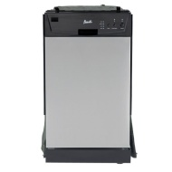 "Avanti DWE1802SS 18"" Built-In Dishwasher - Stainless Steel"