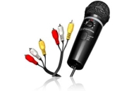 Emerson MM205S Plug N Sing Karaoke Microphone with Echo