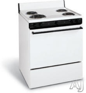 Frigidaire FEF303CW - Range - freestanding - white with black accents