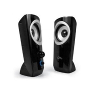 MEDIA-TECH Zouk 2.0 Active Multimedia Stereo Speakers