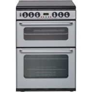 New World DF600TSIDOM Dual Fuel Cooker, Silver