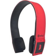SYBA CL-AUD23030 Bluetooth v2.1 EDR Stereo Headset with Microphone Sleek and Modern Edge Design Color Red/Black
