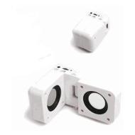 iBox - Portable Stereo Speakers Plus Mains Charger For SanDisk Sansa Fuze 2GB,4GB,8GB, Sansa Fuze+, Sansa Clip+, Sansa Fuze, Sansa Clip, Sansa Shaker,