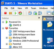 VMware Workstation - media