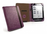 Faux Leather 'Embrace' case cover compatible with Sony PRS-T1 / PRS-T2 / PocketBook 611 / 613 & Touch 622 / Lux / Bookeen Cybook Odyssey / Trekstor Py
