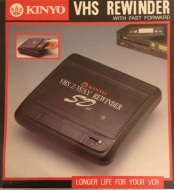 Kinyo UV-520 One-Way Video Cassette Rewinder (Discontinued by Manufacturer)