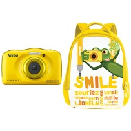 Nikon COOLPIX AW110 Wi-Fi and Waterproof Digital Camera with GPS (Orange)(Certified Refurbished)