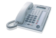 Panasonic KX-TG3032B 2.4 GHz FHSS 2X Handsets Cordless Phone Integrated Answering Machine