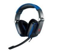 Tt eSPORTS HT-SHK002ECBU Thermaltake SHOCK Gaming Headset, Blue
