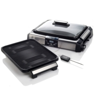 Viante Indoor Grill with Griddle Plate