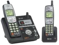AT&T ATT 5.8GHz Dual Handset Answering System