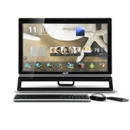 Acer AZ5771-UR20P 23-Inch All-in-One Desktop (Black)