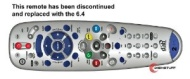 Dish Network 6.4 DVR PVR Remote Control