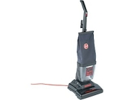 Hoover? Commercial Lightweight Upright Vacuum with E-Z Empty Dirt Cup