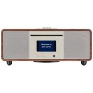 John Lewis Cello Hi-Fi Music System with DAB/DAB+/FM/Internet Radio, CD Player, Wi-Fi & Bluetooth, Walnut