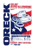 Oreck Pkbb12dw Disposable Vacuum Bags (pack Of 12)