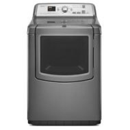Maytag 7.3 cu. ft. Bravos XL Steam Electric Dryer - Granite Metallic 7.0 cu. ft.