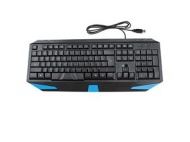 LED Illuminated Ergonomic Backlit Gaming Game USB Wired Keyboard PC