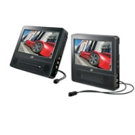 Dual 7-Inch Screen DVD Player