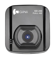 GiiNii GD-250 1080P DashCamVideo Camera with 2.0-Inch LED Backlit (Black)
