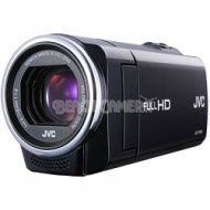 JVC GZ-E10BUS - HD Everio Camcorder 40x Zoom f1.8 (Black)