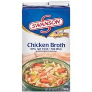 SWANSON CHICKEN BROTH 32oz 3pack