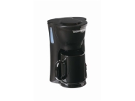 Toastess Black Space Saving Single Cup Coffee Maker