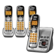 Uniden D1484-4 DECT 6.0 Cordless Phone with 3 Extra Handsets