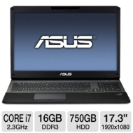 ASUS G75VW-TS72 17.3 Core i7 GTX670M Laptop and Logitech G500 Gaming Mouse and Ultra Scout Laptop Backpack Blue Bundle