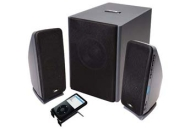 Cyber Acoustics 2.0 Black OEM Desktop Speaker