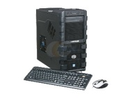CyberpowerPC Gamer Ultra 2062 Phenom II X4 965(3.4GHz) 4GB DDR3 1TB HDD Capacity AMD Radeon HD 6870 Windows 7 Home Premium 64-Bit