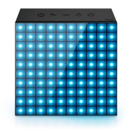 Divoom® Aurabox Bluetooth 4.0 Smart LED Speaker with APP Control for Pixel Art Creation + Animation and Social Media Notification. Built-in Microphone