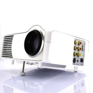 HTP LED-2 Portable LED HD Video Projector SVGA 1080p With HDMI /VGA /USB /TV