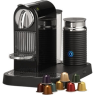Nespresso ® Citiz Black Espresso Machine with Frother