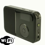 Pocket Size Portable Wireless WiFi Internet Radio Player with FM Tuner