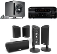 Polk Audio and Yamaha HTS 9605 Home Theater Packge
