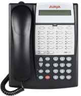 AVAYA Partner 18D - Digital phone - black