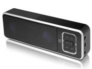 Aluratek ABS02F Portable Bluetooth Wireless Speaker/Speakerphone with Built-In Battery-Bluetooth Speakerphone - Retail Packaging - Black