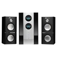"""""""Eagle Arion ET-AR512LR-BK 2.1 Soundstage Speakers w/Subwoofer & Remote - 20Hz to 20kHz, 80 Watts"""""""
