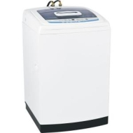 GE WSLS1500JWW - washing machine - top loading - freestanding - white on white