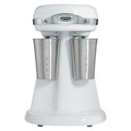 Hamilton Beach 60111 Eclectrics All-Metal Double-Spindle Retro Drink Mixer, White