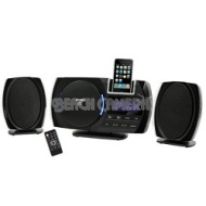 JENSEN Wall-Mountable Docking Digital Music System with CD for iPod and