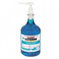 Listerine Cool Mint Mouthwash, 1-gal. Pump
