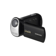 Samsung T10 Full HD Camcorder - Black (2.7inch LCD, HDMI Output, 4.7MP Photo)