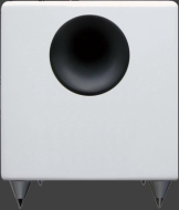 Audioengine AS8 - Subwoofer - 125 Watt - white