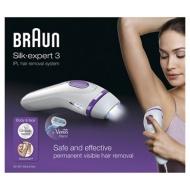Braun - Permanent visible hair removal Ipl bd3001