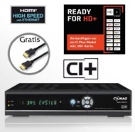 COMAG TWIN HD/CI+ digitaler Satelliten Receiver Twin-Tuner HDTV mit 1000 GB (1TB) Festplatte (CI+, HDMI, USB 2.0, PVRready, 1080p (Senderabhängig), 10