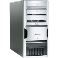 Gateway GT5028 AMD Athlon 64 X2 3800(Dual-Core) 2GHz / 1GB DDR / 250GB HDD / DVD±RW DL / DVD-Rom / Flash Reader / nVIDIA® GeForce® 610