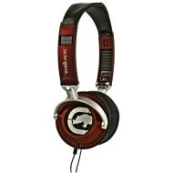 Marc Ecko Unltd EKU-MTN-RD Motion Over-the-Ear Headphones (Red)