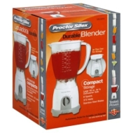 Hamilton Beach Brands 58130N Proctor Silex 8-Speed Blender, White